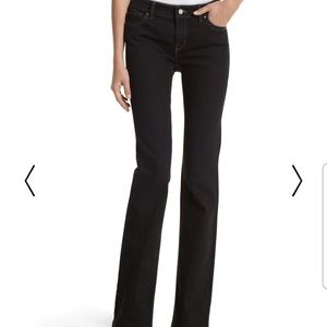 WHBM Blanc Boot Leg Jeans